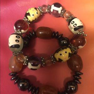 Jewelry - Dog Lover Wanted!  Bracelet bundle.